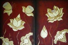 Schilderende huisdecoratie Royalty-vrije Stock Afbeeldingen