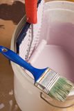 Schilderende hulpmiddelen Royalty-vrije Stock Afbeelding