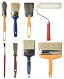 Schilderende hulpmiddelen Stock Foto's
