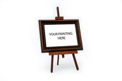 Schilderende tribune Royalty-vrije Stock Foto