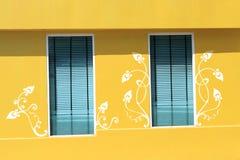 Schilderende woningbouw Royalty-vrije Stock Foto's