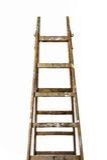 Schilders houten ladder royalty-vrije stock foto