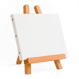 Schildersezel voor kunstenaar. driepoot voor het schilderen. Stock Fotografie