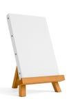 Schildersezel voor kunstenaar. driepoot voor het schilderen. Royalty-vrije Stock Afbeelding