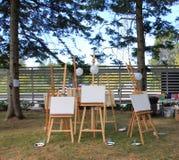 schildersezels Royalty-vrije Stock Afbeelding