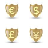 Schildgeld Stock Afbeeldingen