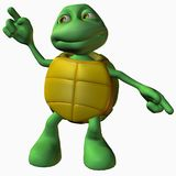 Schildkröte-Junge - Tanz-Maschine Lizenzfreie Stockfotos