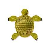 Schildkröte zentangle Muster Lizenzfreie Stockfotografie