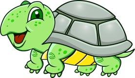 Schildkrötekarikatur Lizenzfreie Stockfotos