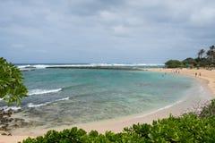 Schildkröten-Bucht-Erholungsort Oahu Hawaii Lizenzfreie Stockfotos