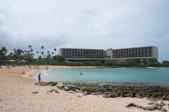 Schildkröten-Bucht-Erholungsort Oahu Hawaii Stockfoto