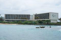 Schildkröten-Bucht-Erholungsort Oahu Hawaii Stockfotografie