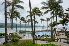 Schildkröten-Bucht-Erholungsort Oahu Hawaii Lizenzfreie Stockbilder
