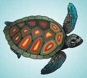 Schildpad royalty-vrije illustratie