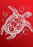 Schildpad een af:drukken Stock Fotografie