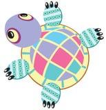 Schildpad zacht stuk speelgoed Royalty-vrije Stock Foto