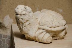 Schildpadbeeldje dat van keramiek wordt gemaakt Royalty-vrije Stock Foto's