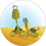 Schildpadden stock illustratie
