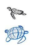 Schildpadden Royalty-vrije Illustratie