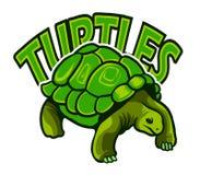 Schildpaddenembleem Royalty-vrije Stock Afbeelding