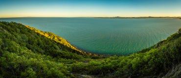 Schildpadvooruitzicht in het nationale park van Kaaphillsborough, Australië, royalty-vrije stock afbeelding