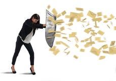 Schildspam lizenzfreies stockfoto