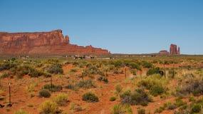 Schildwacht Mesa stock afbeeldingen