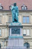 The Schiller memorial in Stuttgart, Germany Stock Images