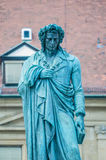 The Schiller memorial in Stuttgart, Germany Royalty Free Stock Images
