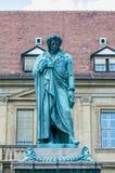 The Schiller memorial in Stuttgart, Germany Stock Photography