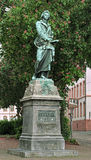 Schiller Monument in Mainz, Germany Royalty Free Stock Image