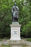 Schiller monument on Maximiliansplatz square of Munich, Germany Royalty Free Stock Photo