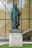 Schiller monument in Salzburg, Austria Stock Photography