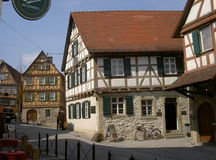 Schiller's birthplace, Marbach, Germany Stock Photography