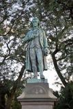 Schiller statua, Lincoln park Chicago, Illinois obrazy stock