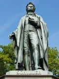 Schiller Statue Stock Photos