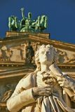 Schiller statue in Berlin Stock Image