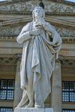 Schiller Statue in Berlin Royalty Free Stock Photos