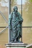 Schiller zabytek w Salzburg, Austria obrazy stock