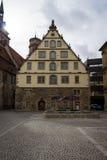 Schillerplatz - square in the old city. Stuttgart. Stock Photography