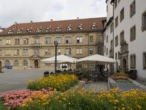 Schillerplatz, Stuttgart stock image