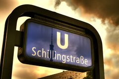 Schillingstrasse Stock Photography