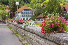 Schiltach in Black Forest, Germany Royalty Free Stock Photos