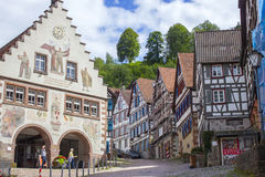 Schiltach in Black Forest, Germany Royalty Free Stock Image