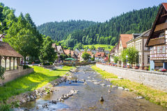 Schiltach - Black Forrest - Germany royalty free stock photos