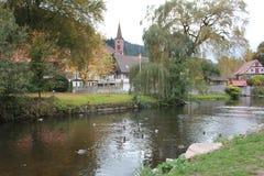Schiltach, Floresta Negra, Alemanha Fotografia de Stock