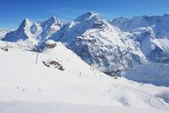Schilthorn, die Schweiz Lizenzfreies Stockbild