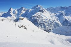 Schilthorn, Switzerland Royalty Free Stock Image