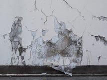 Schilverf op een concrete oppervlakte Stock Afbeelding