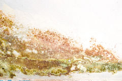 Schimmelige Wand Stockfoto